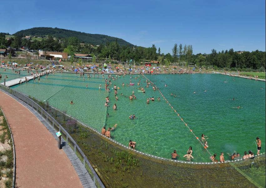 Activit baignade colo au lac des sapins for Piscine trebes