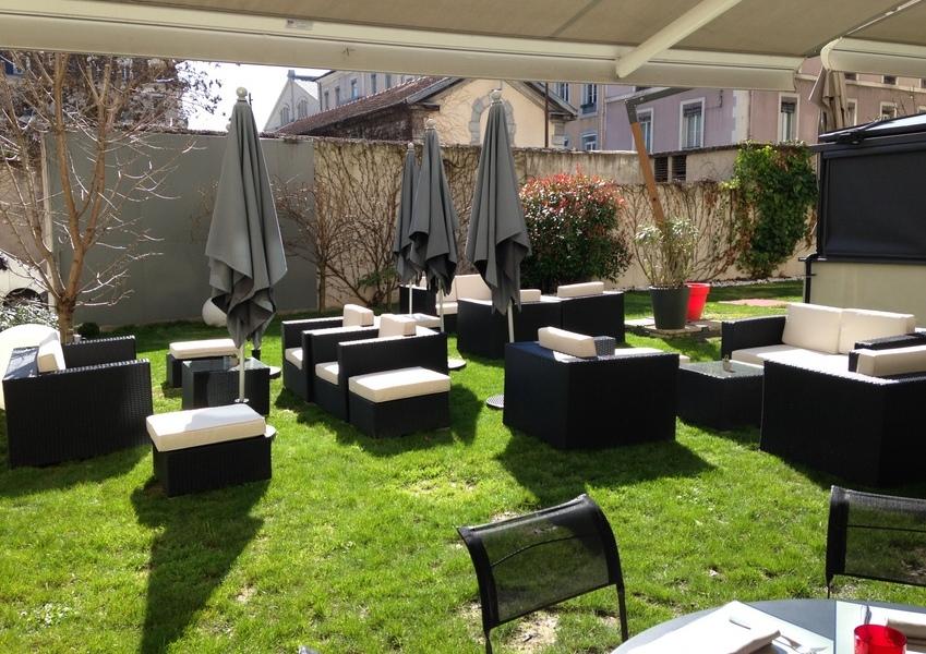 Grenoble d couverte les jardins de sainte c cile - Restaurant jardin de ville grenoble ...
