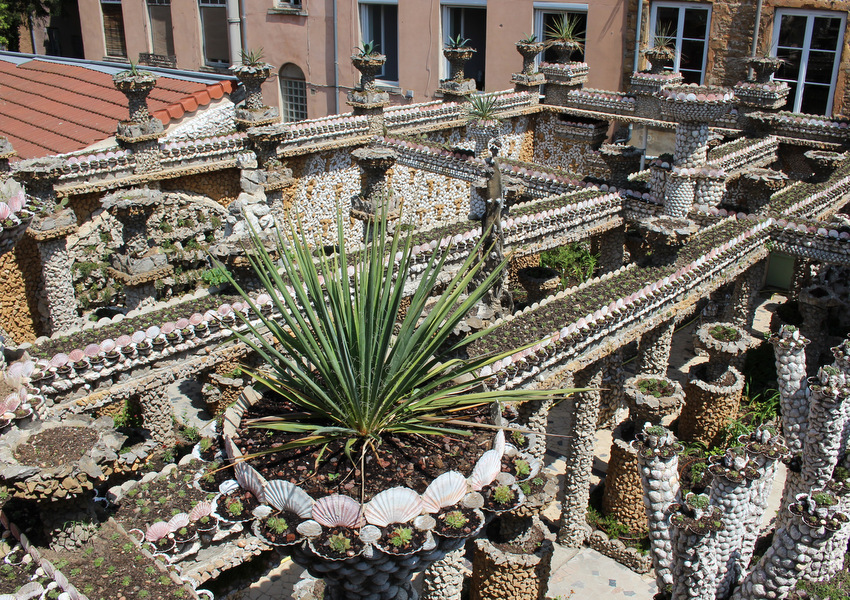 Jardin Rosa Mir dans le quartier de la Croix Rousse à Lyon. Photo : Ville de Lyon via Spot.